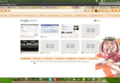 Google Chrome Home Page Shortcut
