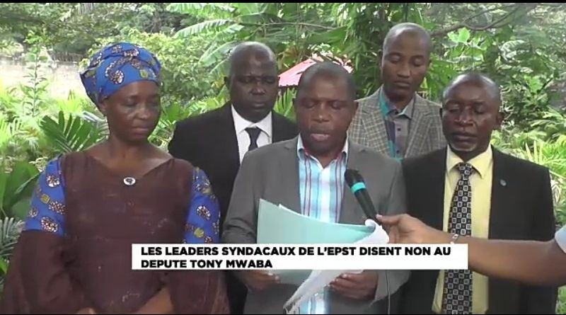 EPST: Accusations contre Willy Bakonga, Tony Mwaba contredit par les leaders syndicaux des enseignants