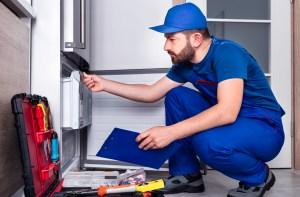 fixing fridge