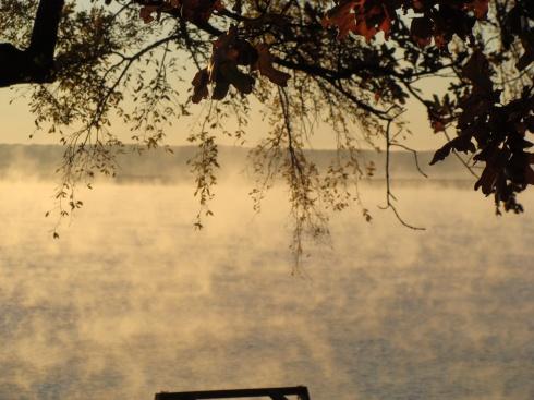 Steamy Grand Lake Morning