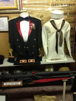 Har-Ber Village Museum Military Display