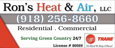 Ron's Heat & Air in Vinita Oklahoma