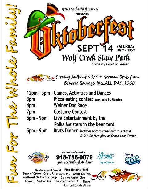 Grove Oklahoma Octoberfest