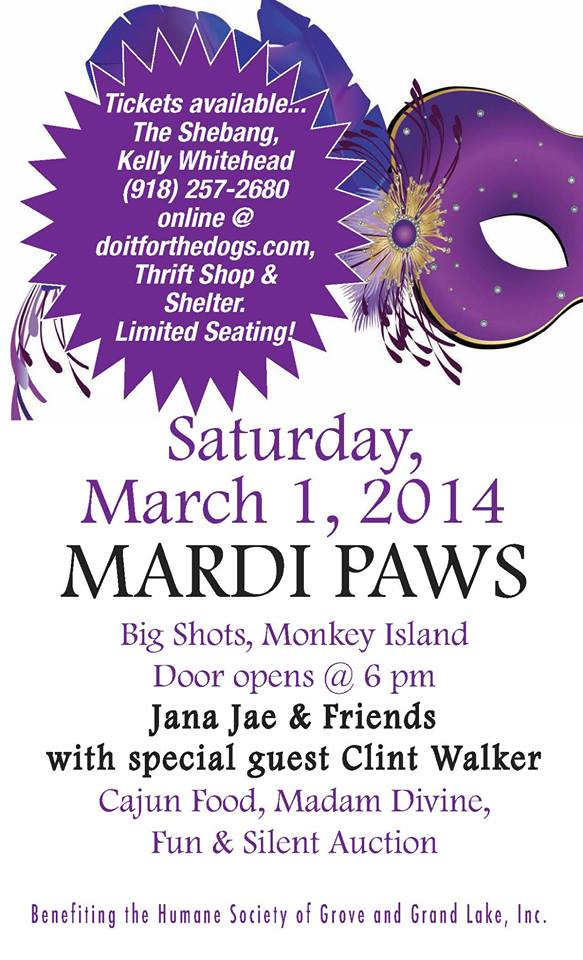 2014 Grand Lake Mardi Paws