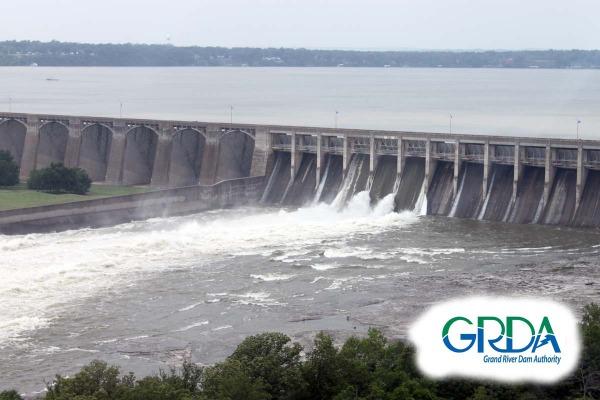 Pensacola Dam flood gates