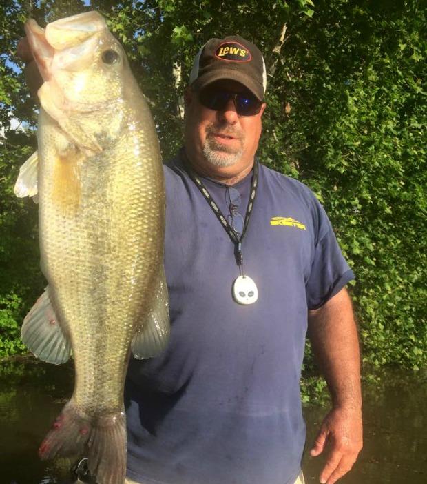 Big Bass in May at Grand Lake