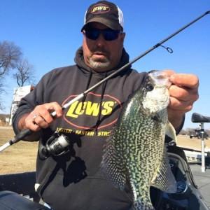 Crappie fishing Grand Lake OK June 2015