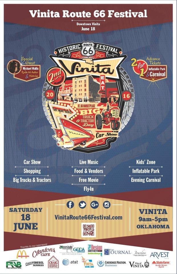 Vinita Route 66 Festival 2016