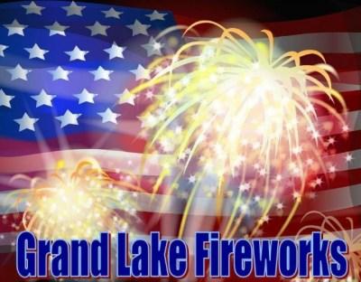 Grand Lake Fireworks 2015