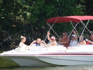 Grand Lake Summertime Boaters