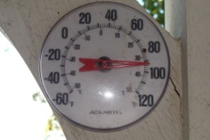 Lake Side Thermometer
