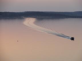 Bass Fishing at Grand Lake