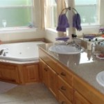 Master Bath in Langley Home For Sale