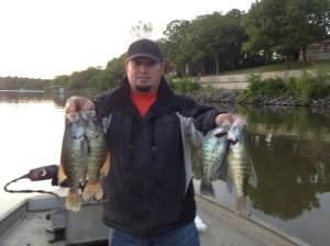 Grand Lake Crappie fishing