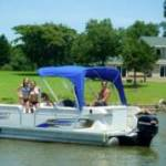 Pontoon Boat for rent at Grand Lake