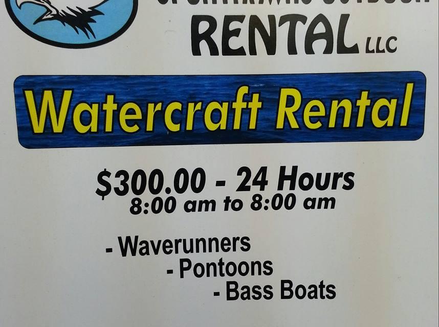 Waverunner, Bass Boat & Pontoon Rentals in Langley