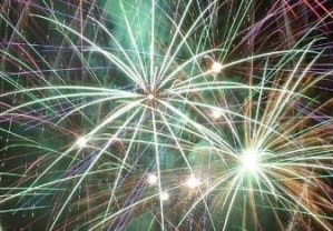 Fireworks at Grand Lake Oklahoma