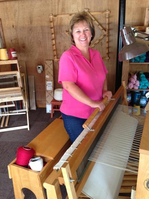 Weaving Workshop at Har-Ber Village