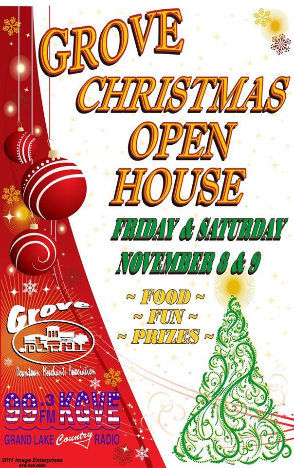 2013 Grove Christmas Open House