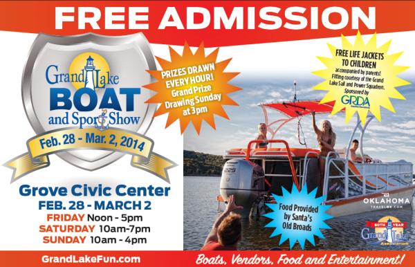 2014 Grand Lake Boat Show
