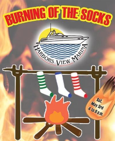 Burning of the socks