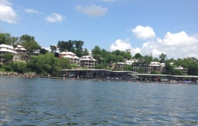 Waterfront homes at Grand Lake