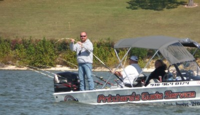 Rusty Pritchard Grand Lake OK fishing guide