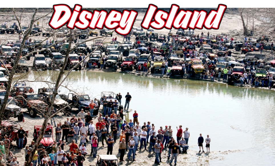 2018 Disney Rock Crawling Schedule of Events