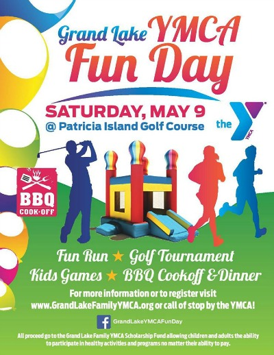2015 Grand Lake Family YMCA Fun Day