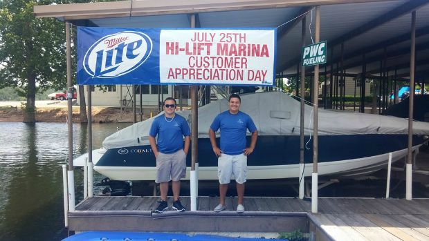 Customer appreciation day at Hi-Lift Marina and Grand Lake Boat Sales