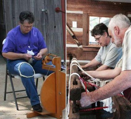Har-Ber Village craft workshops in Grove Oklahoma