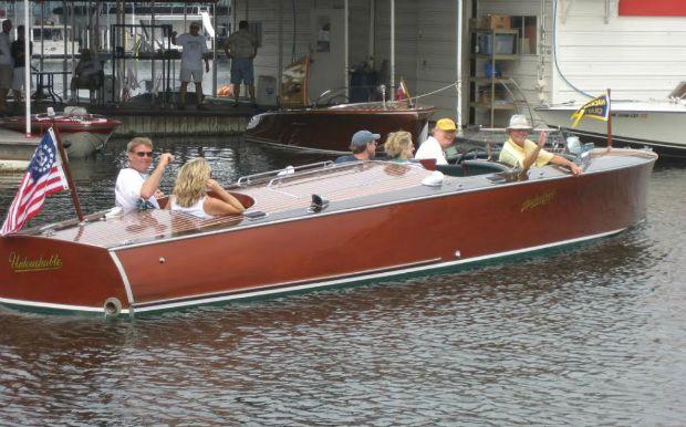 Grand Lake OK classic boats