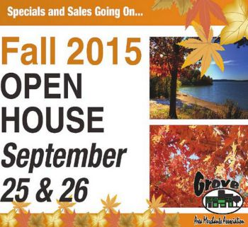 Grove OK Fall Open House