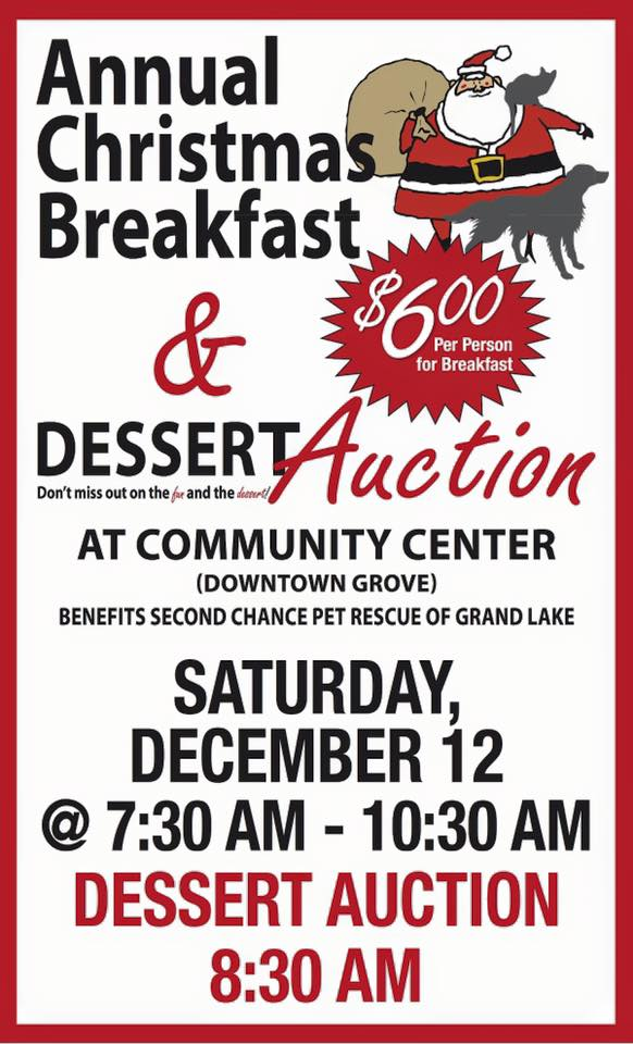 Christmas Breakfast and Dessert Auction