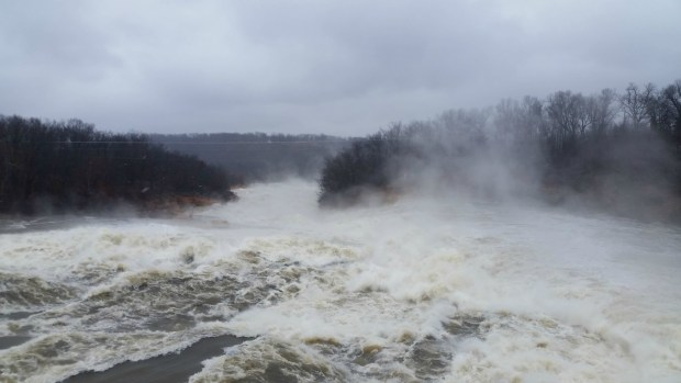 December 2015 Grand Lake Floodwater Release