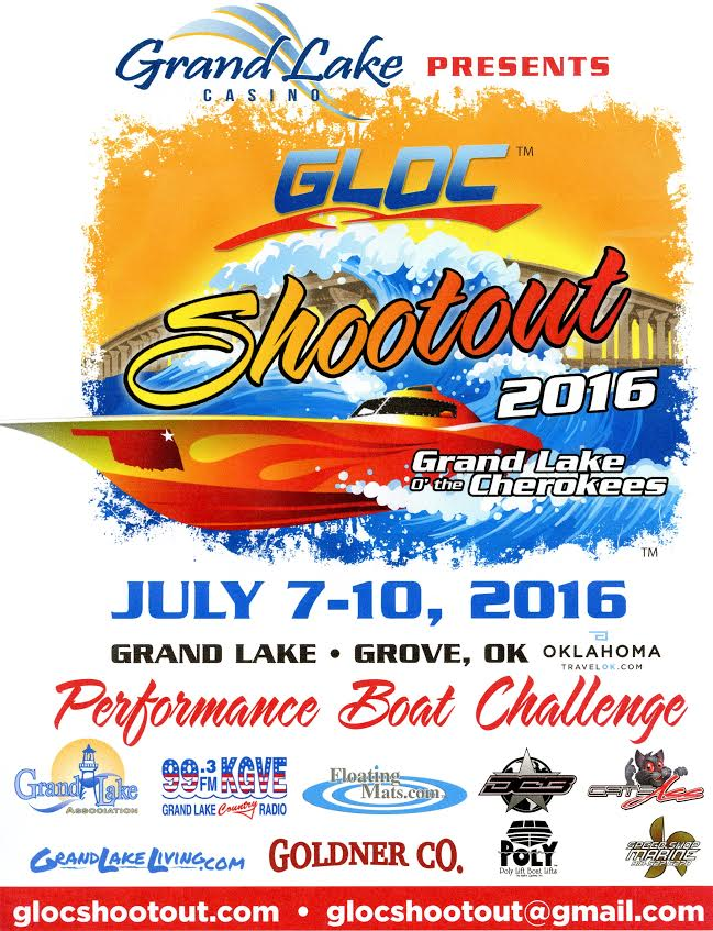 2016 GLOC Shootout Event Poster