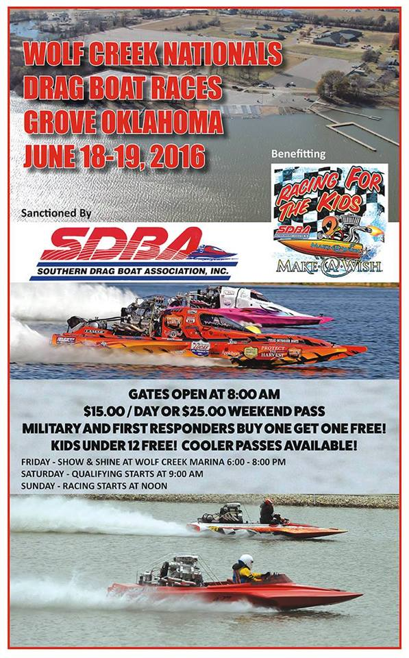 Wolf Creek Nationals Drag Boat Races