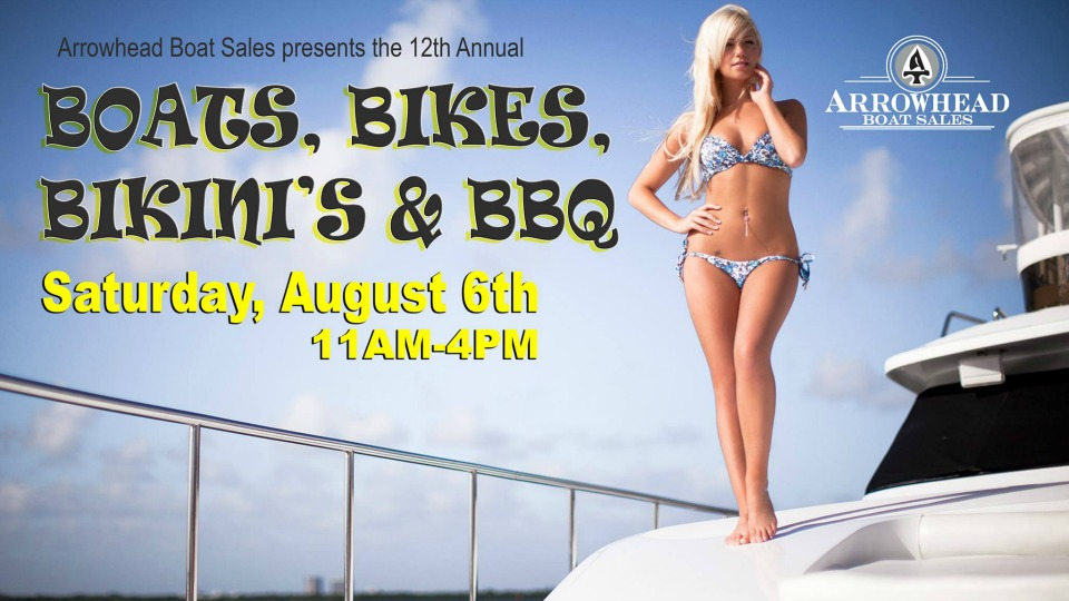 Boats Bikes Bikinis at Grand Lake OK
