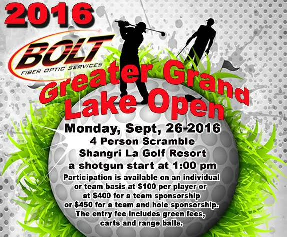 Grand Lake Golf Tournament