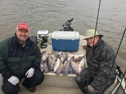 Blue Catfish Grand Lake March 2017