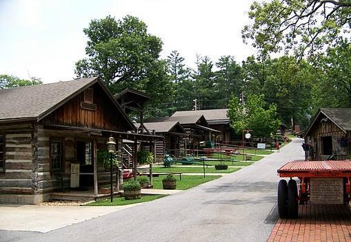 Har-Ber Village Museum Grove OK