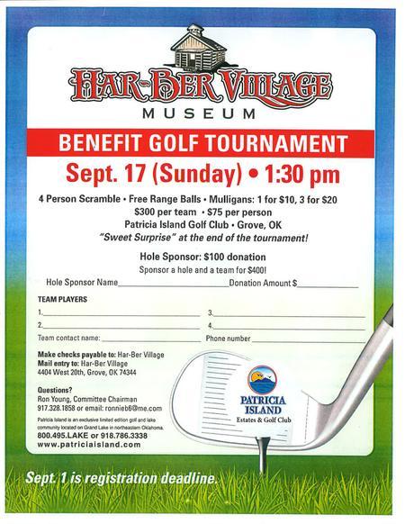 Har-Ber Village benefit golf tournament