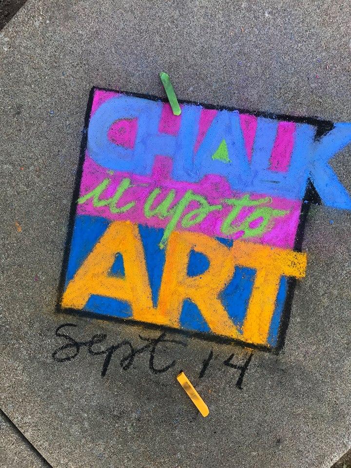 Grove OK Chalk it up to Art