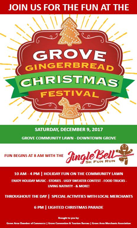 Grove Gingerbread Christmas Festival