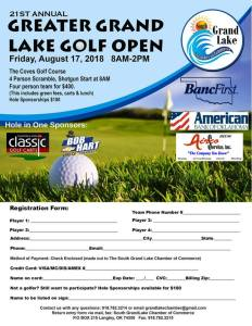 2018 Greater Grand Lake Open