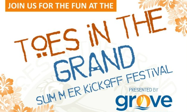 Great Band Lineup for Upcoming Toes In The Grand Festival