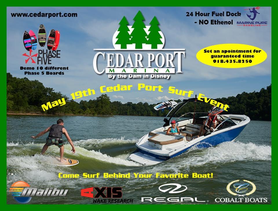 Cedar Port Marina Surf Event 2018