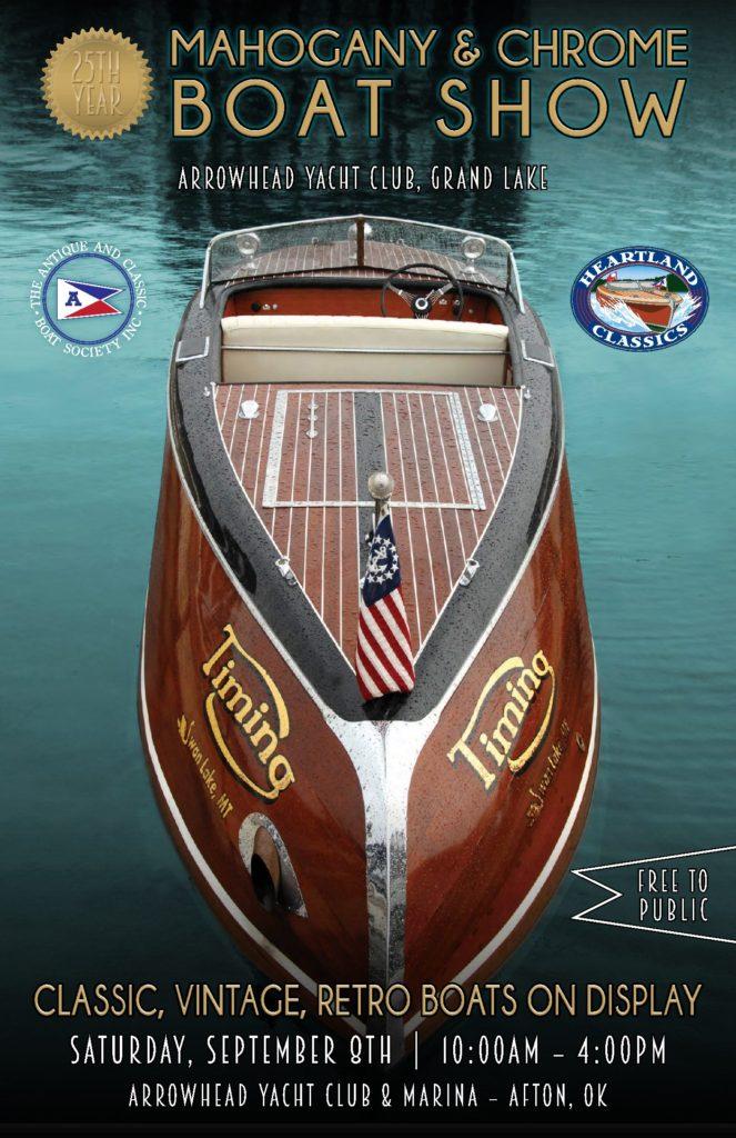 2018 Antique boat show Grand Lake OK