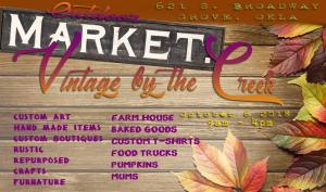 Fall Vintage Market Grove OK