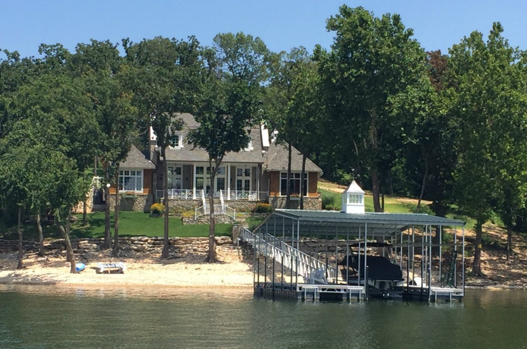 Lakefront property at Grand Lake Oklahoma
